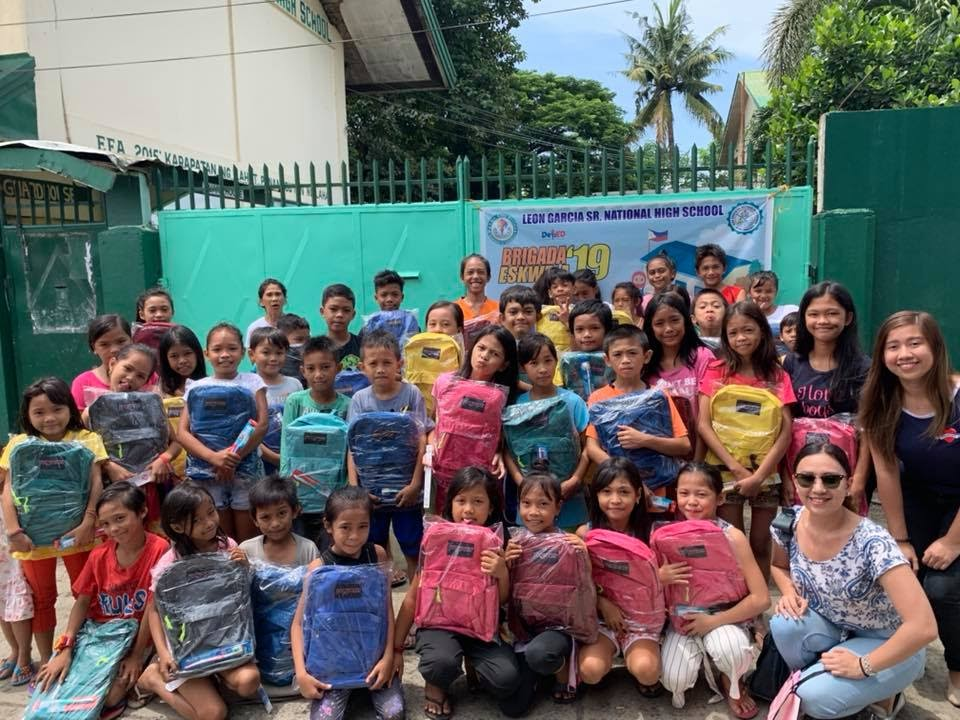 One of my personal favorite yearly projects, a Bags-to-School program for kids in Gotamco, Agdao. I spent the first two years of my life in this area so it's close to my heart.