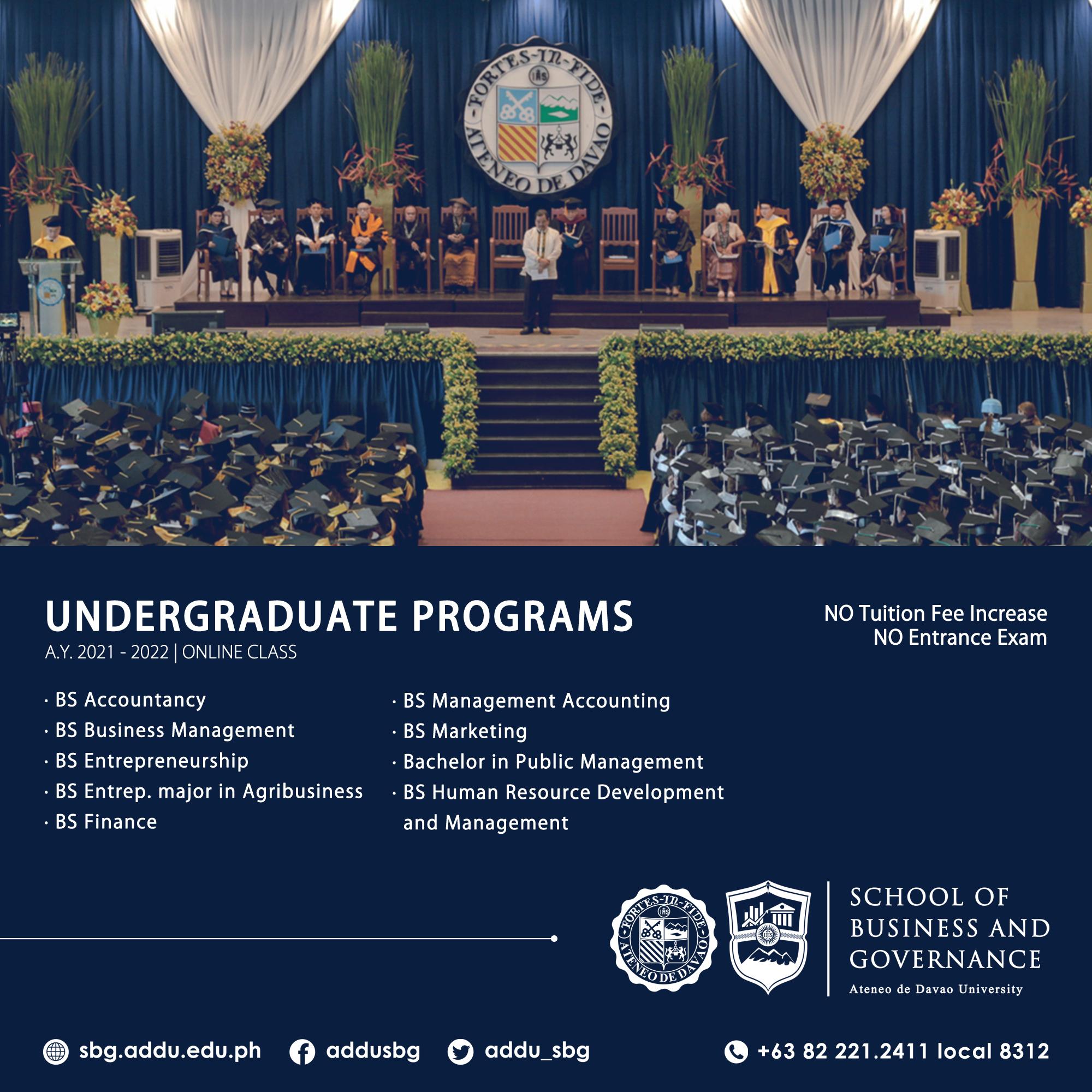 Enrollment 2021 Series 2 - Undergraduate